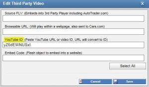 YouTubeID Dashboard